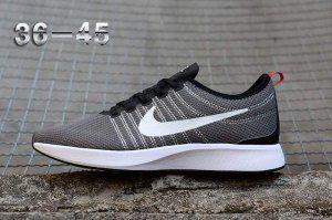 9ec57ec68caa Mens Womens Nike Air Zoom Mariah Flyknit Racer Grey White Black Running  Shoes