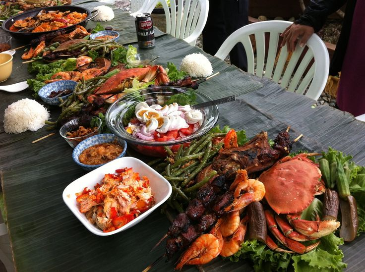 Summer Kamayan At Our Backyard Patio