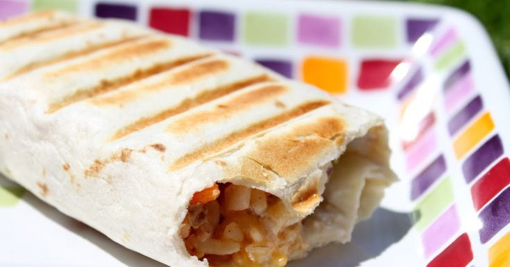 Taco Bell Grilled Stuffed Burrito copycat recipe from a real Taco Bell employee. This is much better than the original - healthier too! I love burritos.