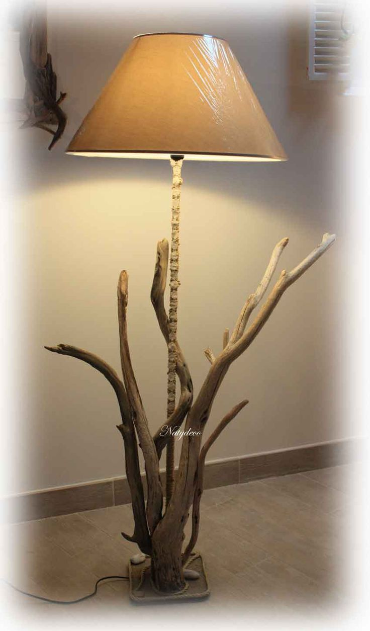 17 Best ideas about Lampadaire En Bois on Pinterest  ~ Lampadaire Bois