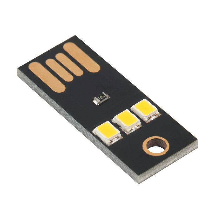 Mini USB Power LED Light 2 W ultra low power 2835 chips Pocket Card Lamp