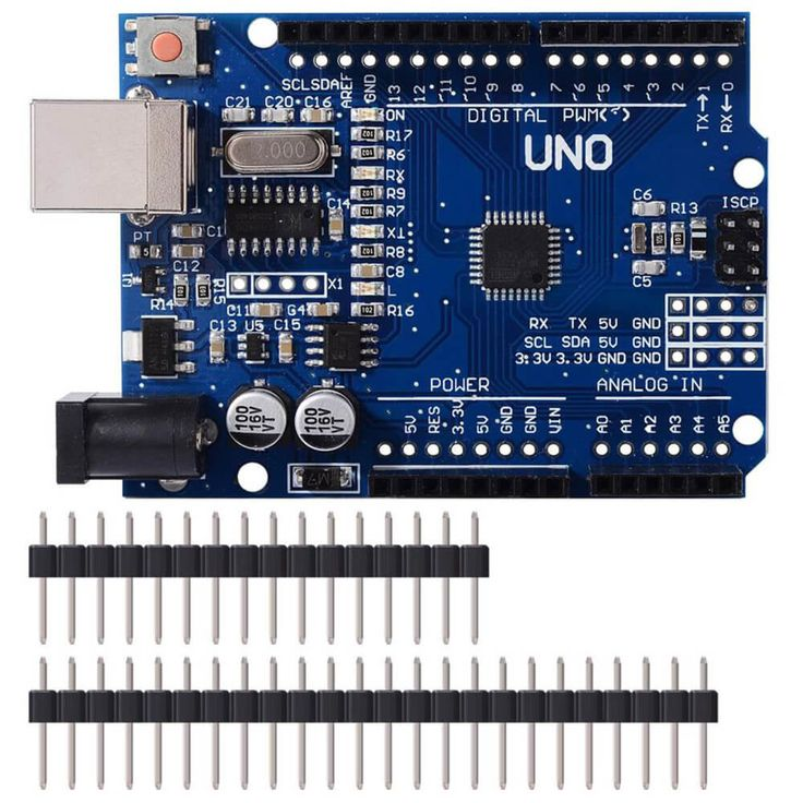 Arduino Compatible Uno R3 (UNO-CH340G/ATmega328P) is the best board to get started with electronics and coding. Use to control infinite number of electronics/robotics/automation applications. SALE PRICE: $10.25