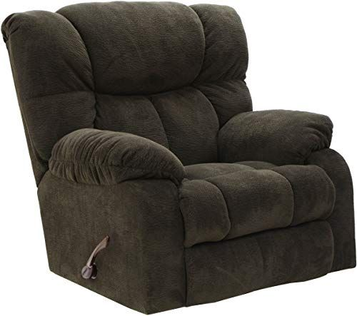 The perfect Popson Rocker Recliner Chocolate Living Room Furniture. [$1496] perfectfurniture from top store