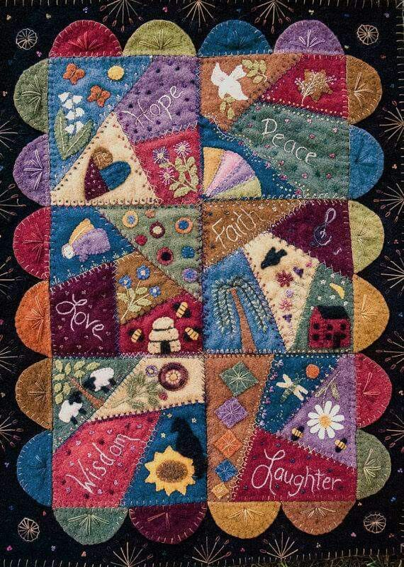Best 25+ Wool quilts ideas on Pinterest | Quilts for men patterns ... : quilting with wool - Adamdwight.com