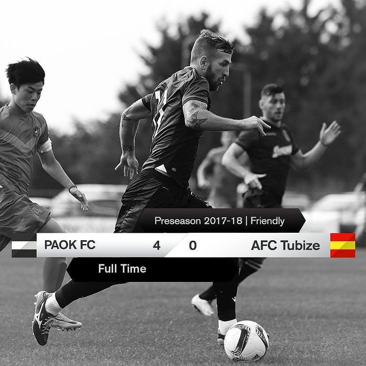 #PAOKTBZ 4-0 #Preseason #friendly #DareToDream