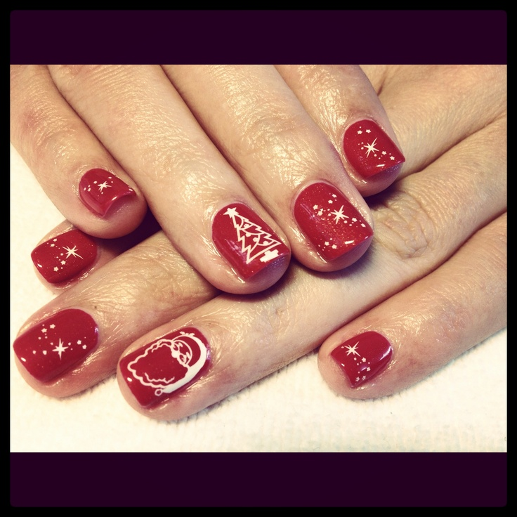 Christmas Nails Shellac: Top 25 Ideas About Shellac Nails On Pinterest
