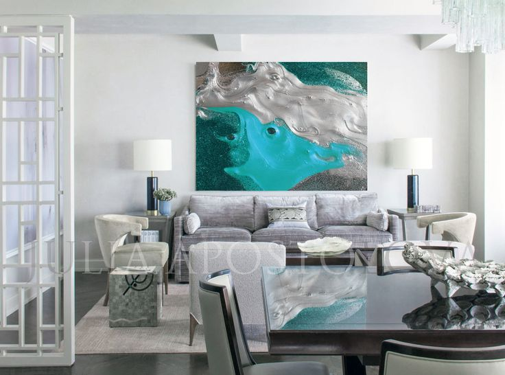 #Modern #Art, #Abstract #ModernArt #contemporaryart #artdesign #moderndesign #minimalart #minimalist #ArtPrint #Painting, #Silver #Turquoise, #ExtraLarge #WallArt #ModernDecor, #Metalic #MetalicColors, #GlitterAbstract #JuliaApostolova #Etsy #contemporary #decor #interior #design ##interiordesign #designer #artcurator #fashioninterior #modernhome