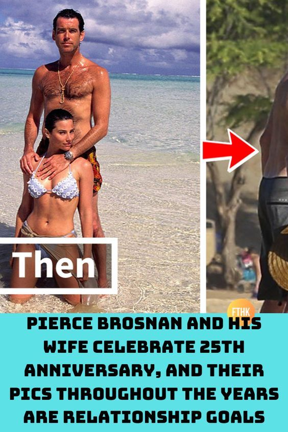 Pierce Brosnan And His Spouse Rejoice 25th Anniversary, And Their Pics All through The Years Are…