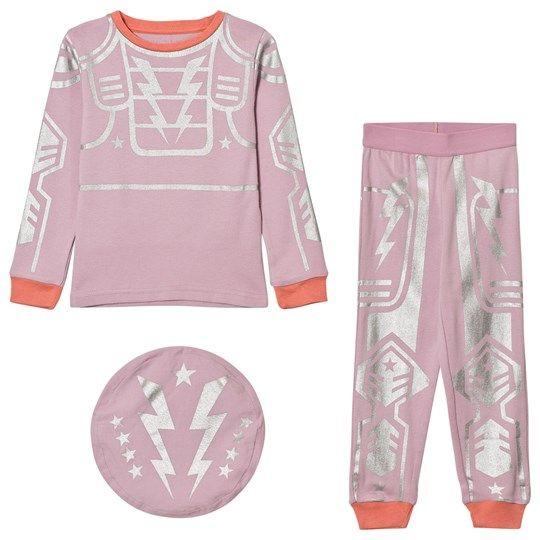 Stella McCartney Kids Pink Robot Andrea Pyjamas 5350