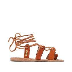 Sandales cuir Bakio LES TROPEZIENNES par M BELARBI - Sandales
