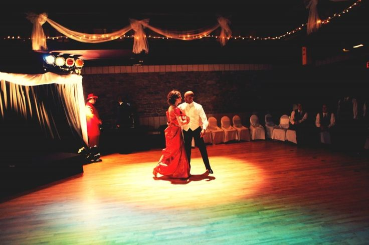 A lovely first dance in the hall - Charles W. Stockey Centre for the Performing Arts, Parry Sound, Ontario