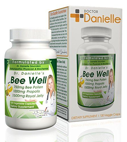 Dr. Danielle's Bee Well (Royal Jelly 1500mg, Propolis 1000mg, Beepollen 750mg) in 4 Daily Capsules     Tag a friend who would love this!     $ FREE Shipping Worldwide     Get it here ---> http://herbalsupplements.pro/product/dr-danielles-bee-well-royal-jelly-1500mg-propolis-1000mg-beepollen-750mg-in-4-daily-capsules/    #herbalsupplements #supplement  #health #herbs