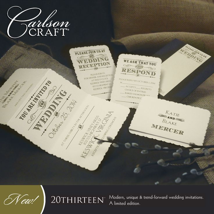 bed bath and beyond wedding invitation kits%0A This charming wedding invitation ensemble from the   THIRTEEN album  called  Rustic Touch  has been