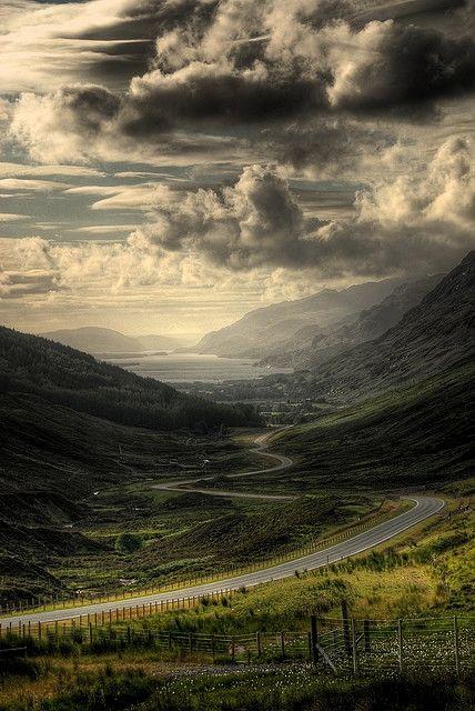 Scotland highlands by foxydeltan