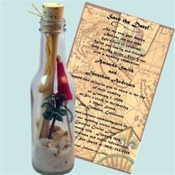 Wedding Invitation in a bottle - Palm Paradise Bottle: Save The Date, Place Card, Bottle Invitations, Wedding Invitations, Paradise Bottle, Beach Weddings, Palms Paradise, Beaches Weddings Invitations, Destination Weddings