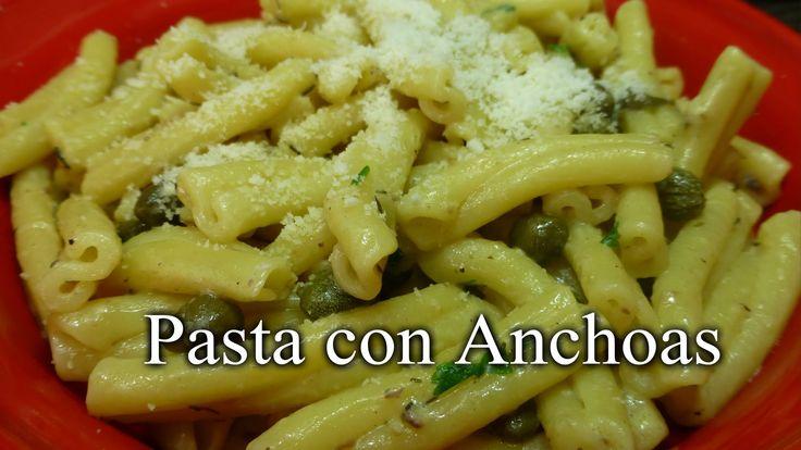 Pasta con Anchoas