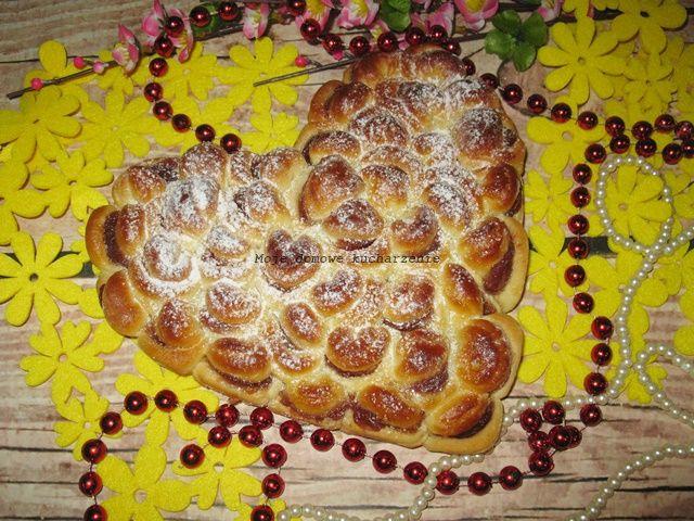 Moje domowe kucharzenie: Drożdżowe serce