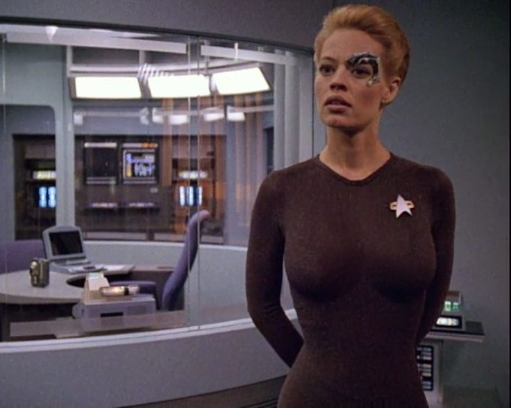 """""""I would defy people to find a more beautifully developed character than Seven of Nine."""" - Jeri Ryan"""