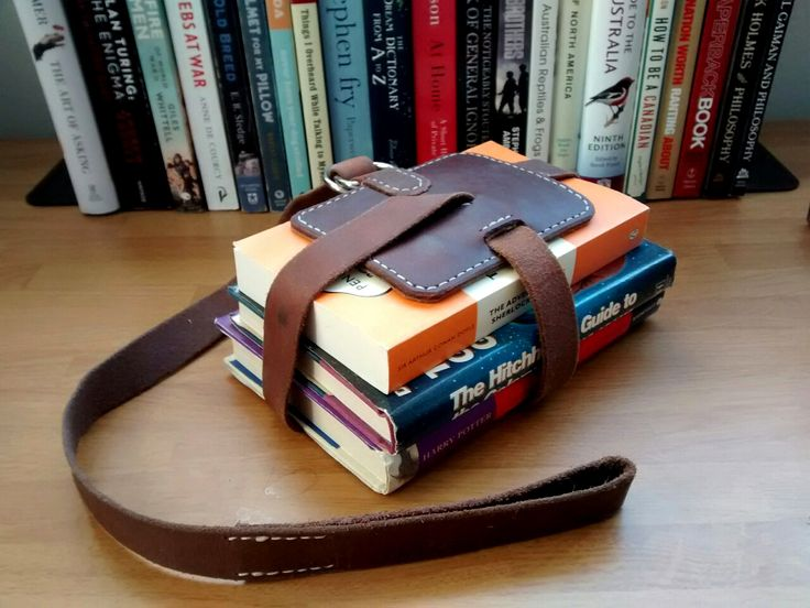 1000 Ideas About Leather Book Bag On Pinterest Leather