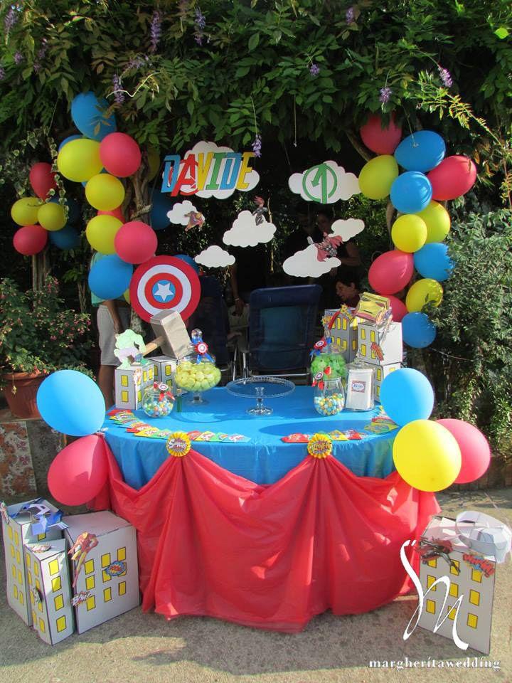 Un primo compleanno da Supereroe
