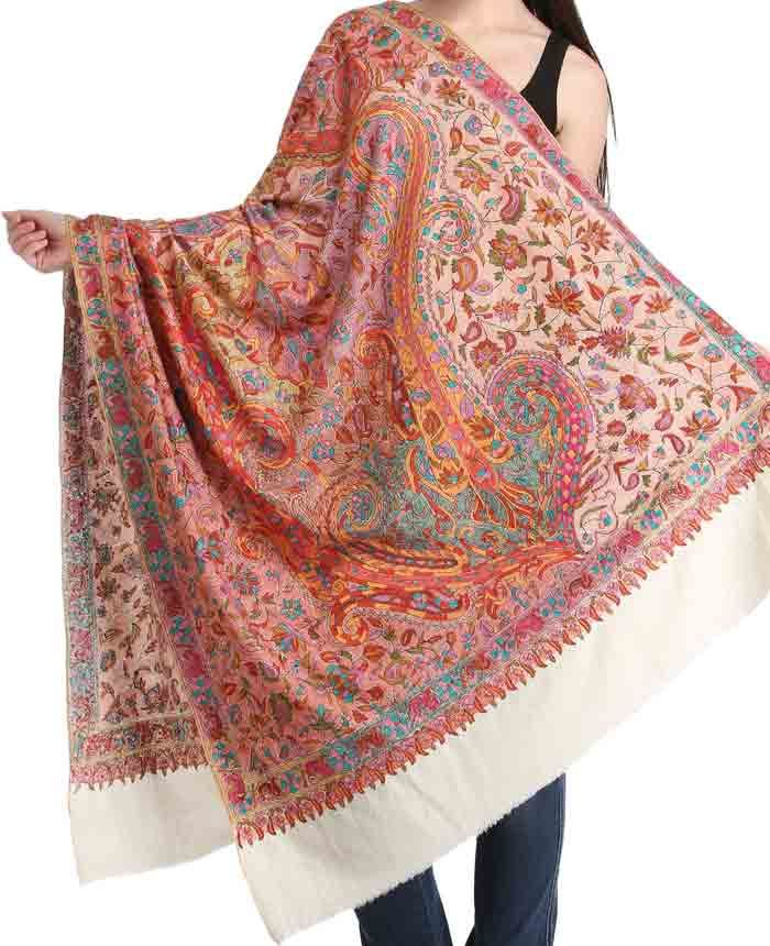 89833a5c2cf1a Latest Ladies Pashmina Shawls For Winter 2019 | My spring outfits ...