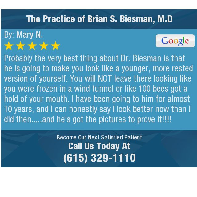 Probably The Very Best Thing About Dr Biesman Is That He Is Going