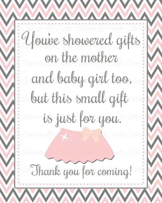 Printable Favor Sign to thank your guests for sharing in your baby shower. View All Matching Items: https://www.etsy.com/shop/CelebrateLifeCrafts/search?search_query=G002&order=date_desc&view_type=gallery&ref=shop_search Features of this Printable Favor Sign listing: • Instant