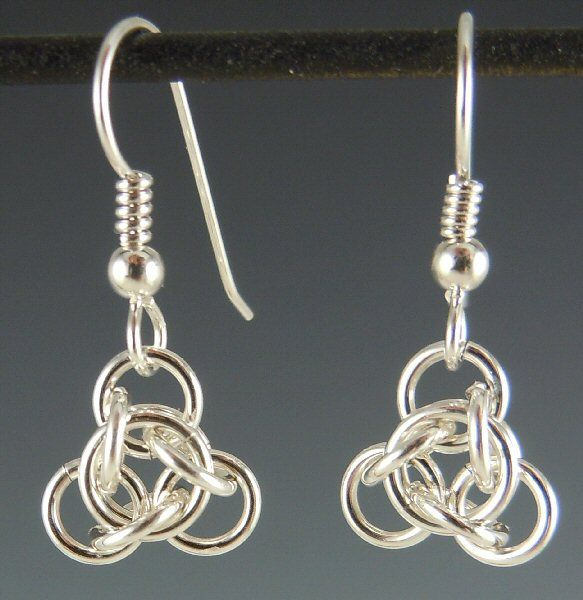 115 best chain mail earrings images on Pinterest