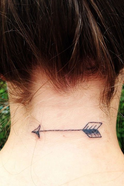 36 Astrology Tattoos That Are Out of This World: SAGITTARIUS: Sagittariuses are vibrant and exciting, so this tattoo is perfect for them.