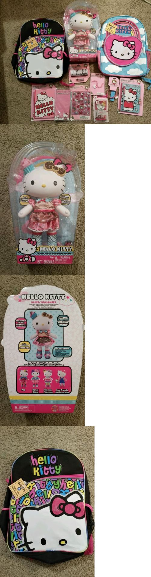 Hello Kitty 5204: Hello Kitty Baker Doll Large 12 Doll And Backpack Set -> BUY IT NOW ONLY: $150 on eBay!
