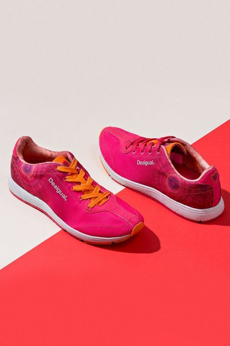 Pink sneakers | Desigual.com
