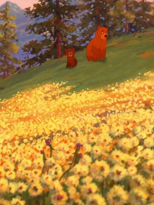 30 day Disney challenge Day 5 Favorite underrated/forgotten film: soooo difficult, but... Brother Bear <3