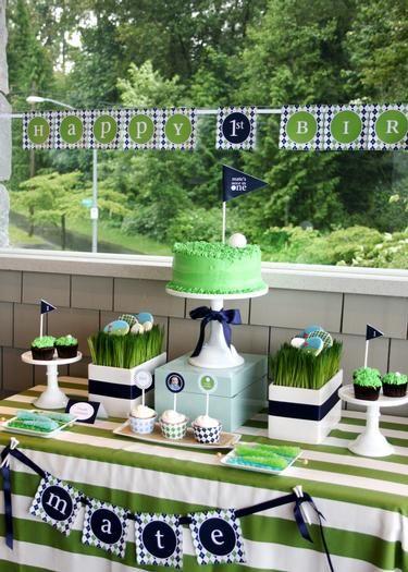 Golf Par.Tee by Tania's Design Studio www.taniasdesignstudio.etsy.com Hostess with the Mostess® - Golf Par.Tee