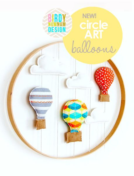 *NEW* Circle Art Balloons ♥ CITRUS - $95 - via DTLL.