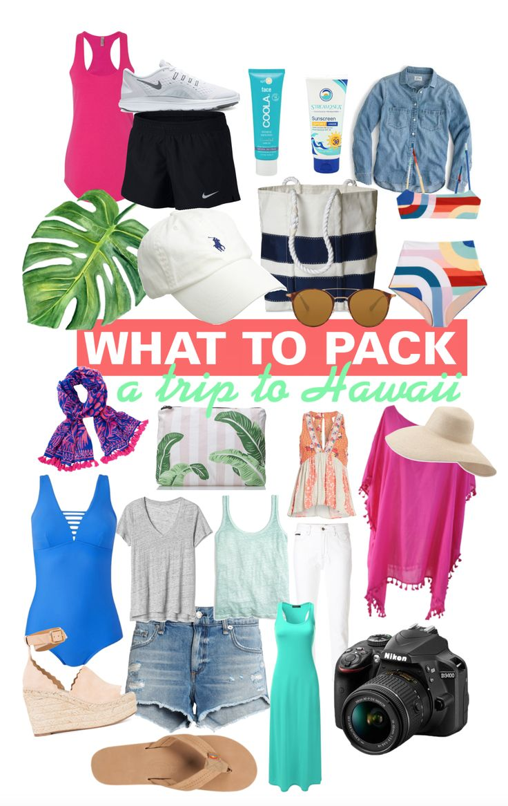 What To Pack For Hawaii - A step-by-step guide to help you pack your bag for the beach, daytime activities, hiking, swimming and a night out while visiting Hawaii! | What To Pack For Hawaii - Packing List For Hawaii - Oahu Kauai Maui - What Should I Pack For My Honeymoon - Outfit Ideas For Hawaii - Communikait by Kait Hanson