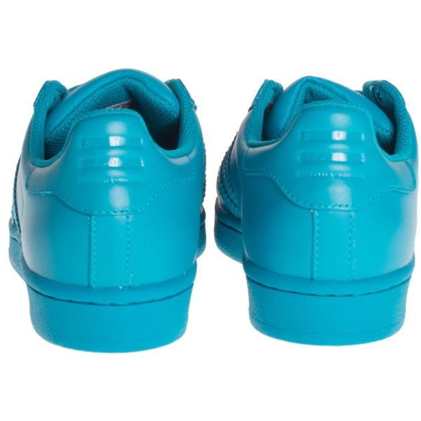 classic fit c1140 26aa1 ... ADIDAS X PHARRELL WILLIAMS Superstar Supercolor Lab Green Flat leather.