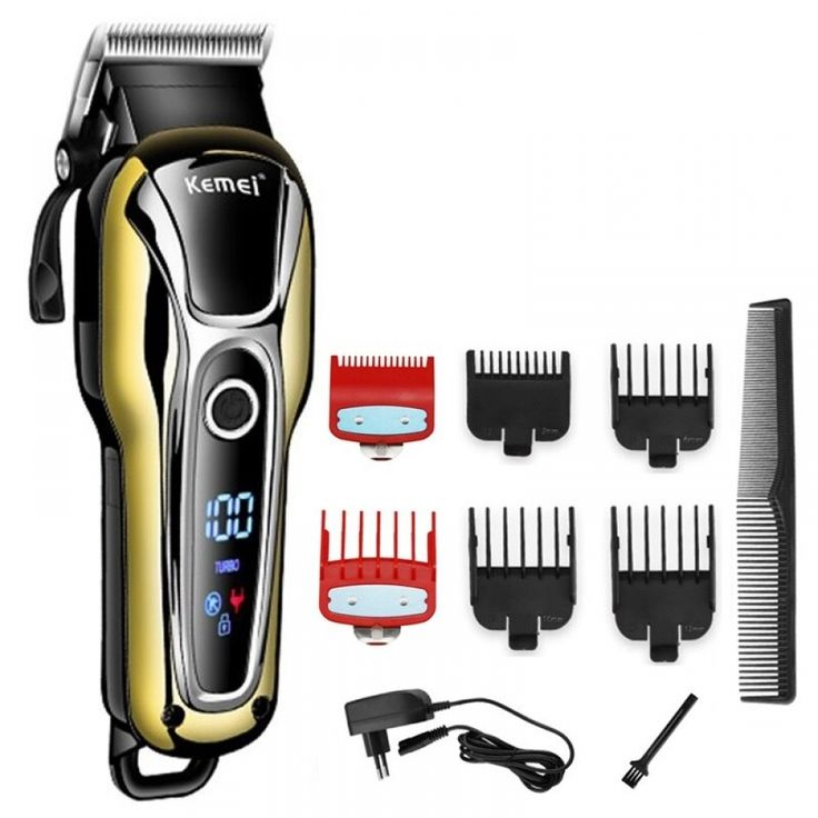 Turbo professional hair clipper cordless hair trimmer for