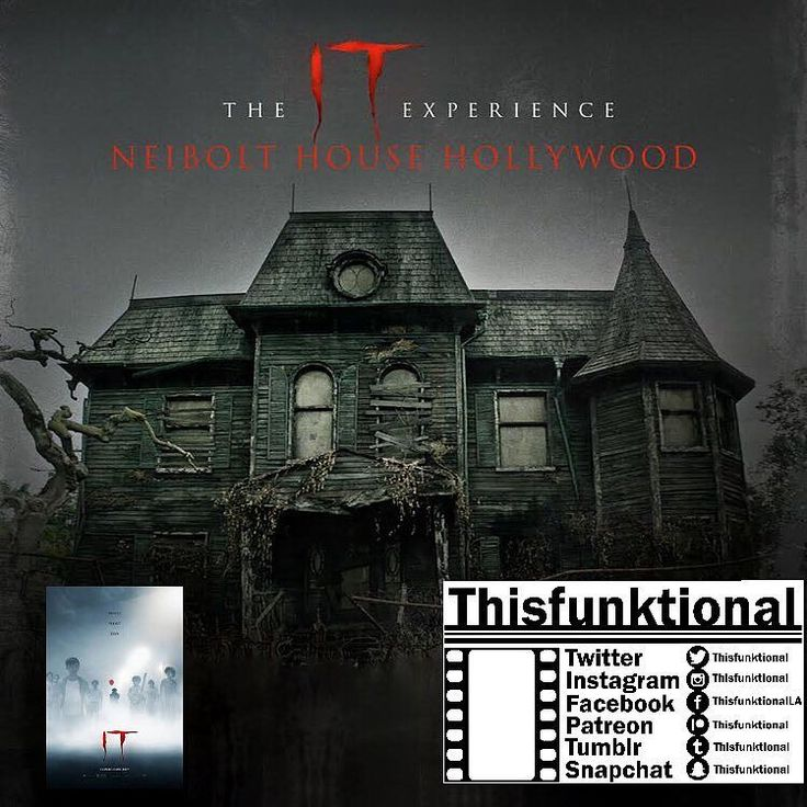 #Thisfunktional #Movie: #Watching the #ITMovie tonight and #HangingOut at the #ITExperience #NeiboltHouse after (Say Hi if you see me out there) Livestream? Will be on http://ift.tt/2wgKLsp hopefully I can get my #Talented #ScreamQueen #SpecialGuest #JessicaCameron to say hey and talk a bit about what she has coming up. IT opens in #Theaters Sept. 8. #ThisfunktionalMovie #Movies #Horror #Scary #Remake #StephenKing #IT #Film #Films #Cine #Cinema #Cinemas http://ift.tt/1MRTm4L