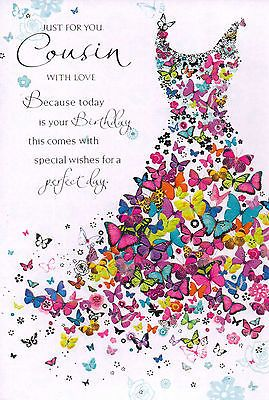 #Female #cousin traditional birthday card - 10 x cards to #choose from!, View more on the LINK: http://www.zeppy.io/product/gb/2/381413603342/