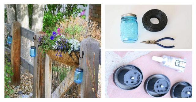 Lampy ogrodowe ze słoika - instrukcja krok po krokuLAMPA #OGRÓD #SŁOIK #ZRÓB TO SAMA #KROK PO KROKU #DIY