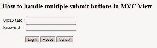 Aspdotnet-Kishore: MVC4 Razor: Handling multiple submit buttons on th...