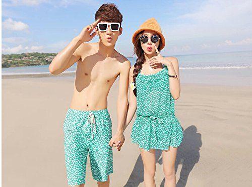 Amazon.co.jp: ペアルック 水着 カップル水着 カップル ペア水着 みずぎ mizugi ミズギ 2着セットでお得 花柄 ビキニ ワンピース パンツ  夏のペアルックyzb242: 服&ファッション小物