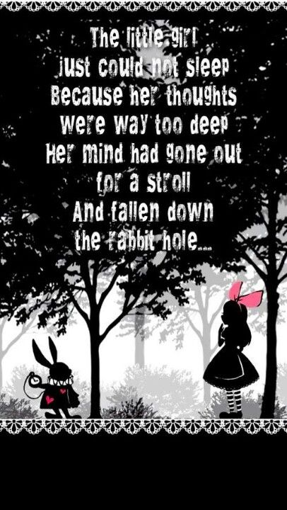 """Lewis Carroll begins Alice's journey with her fall down the rabbit hole in order to demonstrate Alice's rash and childish tendencies at the beginning of her journey. Focusing the dialogue on Alice's pet cat, Carroll exposes Alice's blatant disregard for consequences of what is to happen as a result of her actions; this is done through Carroll's choice of diction, stating that Alice""""never once"""" considered the outcomes of her action."""