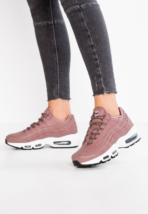 6aaf5abb229 Nike Sportswear AIR MAX 95 - Baskets basses - smokey mauve white black -  ZALANDO.FR