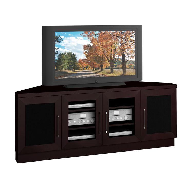 furnitech ft60ccc w contemporary 60 tv media corner console home furniture showroom amazoncom furniture 62quot industrial wood