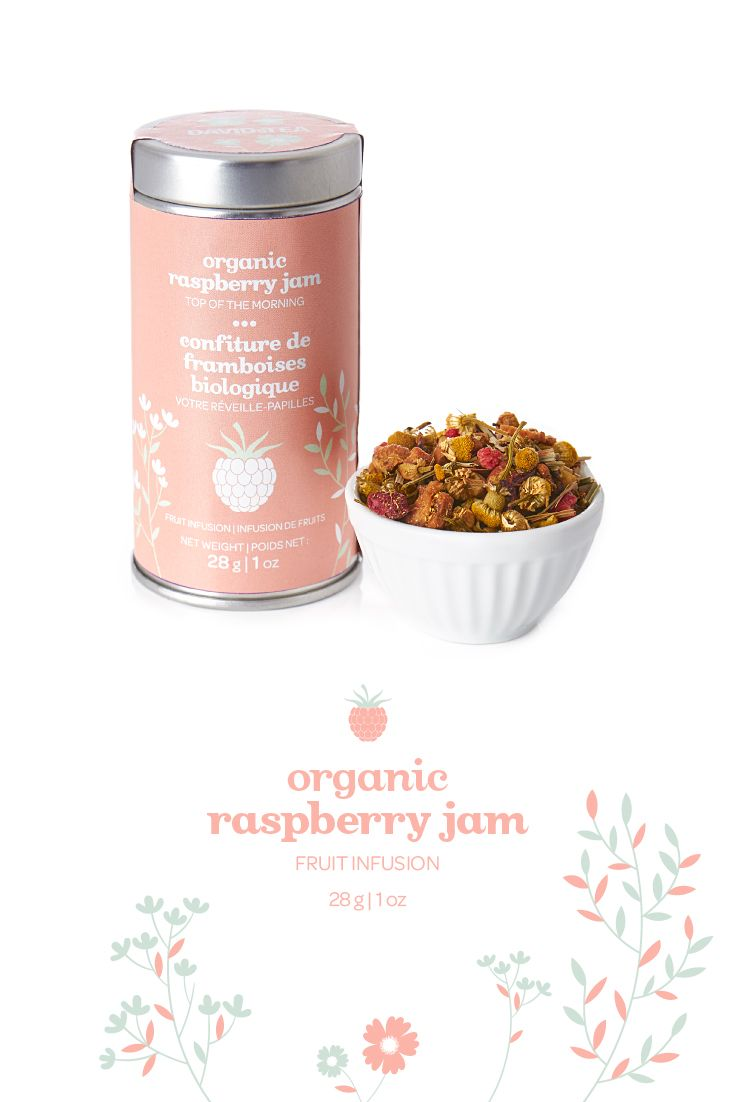 Nothing says good morning like this sweet and slightly tart raspberry tisane. In a special limited-edition tin for Mother's Day!