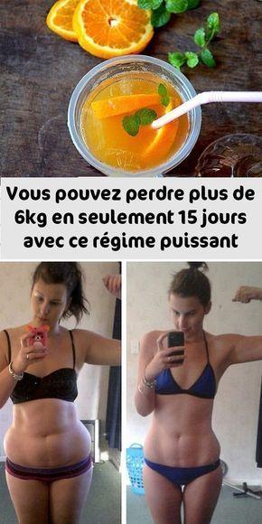 Vous pouvez perdre plus de 6kg en seulement 15 jours avec ce régime puissant