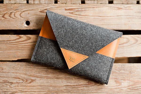 LAB Freshness: Handmade Felt & Leather From The Navis