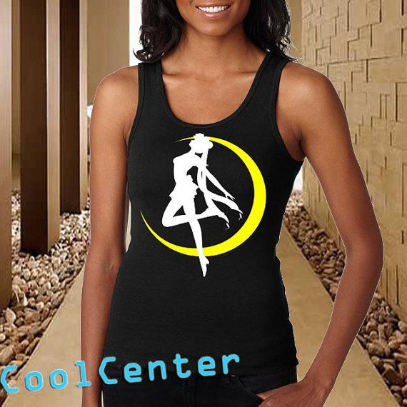 Sailor Moon tank top for womenprint screen tank top by CoolCenter, $20.99