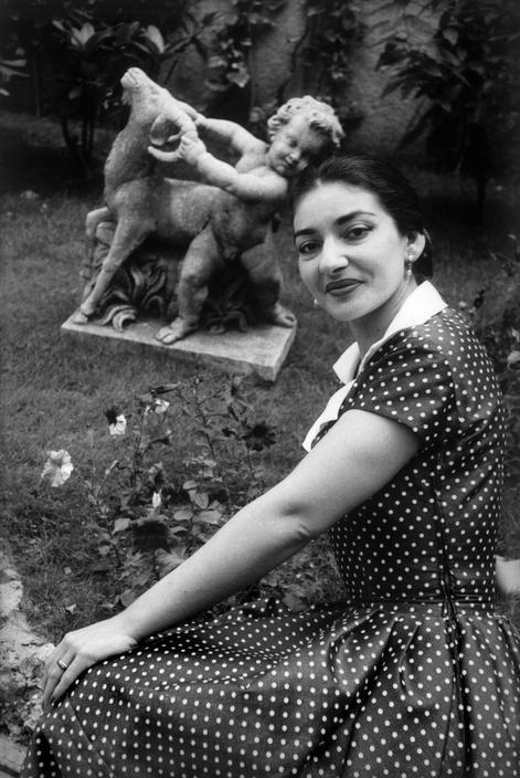Maria Callas Roma 1956